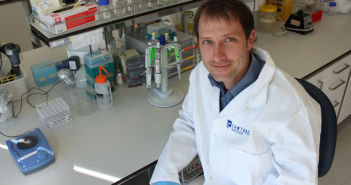 Cawthron Institute scientist, Dr Xavier Pochon.