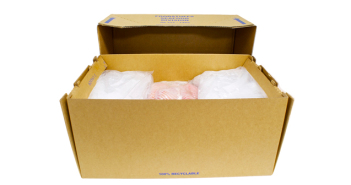 Seafood packaging: drastically reducing polystyrene going to landfill.