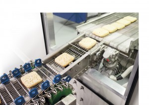 Take one foodie and one manufacturing engineer, add a team of experts in their field, support from conveyor designer and manufacturer, Dyno NZ and the determination and passion to create a great product and you have Button Family Crumpets.