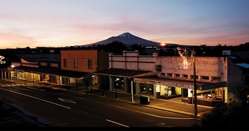 ON ONE of New Zealand's busiest retail days, the tiny pioneering town of Eltham in South Taranaki is decidedly quiet.
