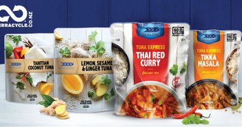 Sealord has joined recycling specialist TerraCycle to provide consumers with an innovative recycling option for pouch packaging used in its new Tuna Pockets and Tuna Express ranges.