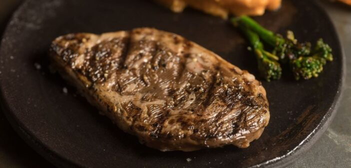 ALEPH FARMS' BIOPRINTED RIBEYE STEAK